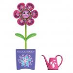 Fleur interactive Magic Blooms : Pot violet