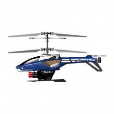 Hélicoptère radiocommandé Power in air : Heli Blaster : Bleu/gris