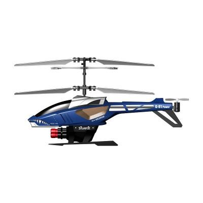 Hélicoptère radiocommandé Power in air : Heli Blaster : Bleu/gris - Silverlit-84514