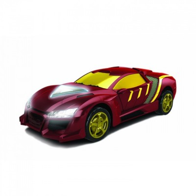 voiture radiocommand e rc turbo racer iron man 2 silverlit 85179. Black Bedroom Furniture Sets. Home Design Ideas