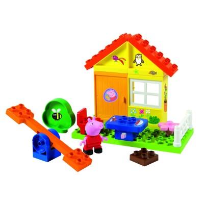 Jeu de construction la maison de vacances de peppa pig jeux et jouets sim - Jeu de construction de maison ...
