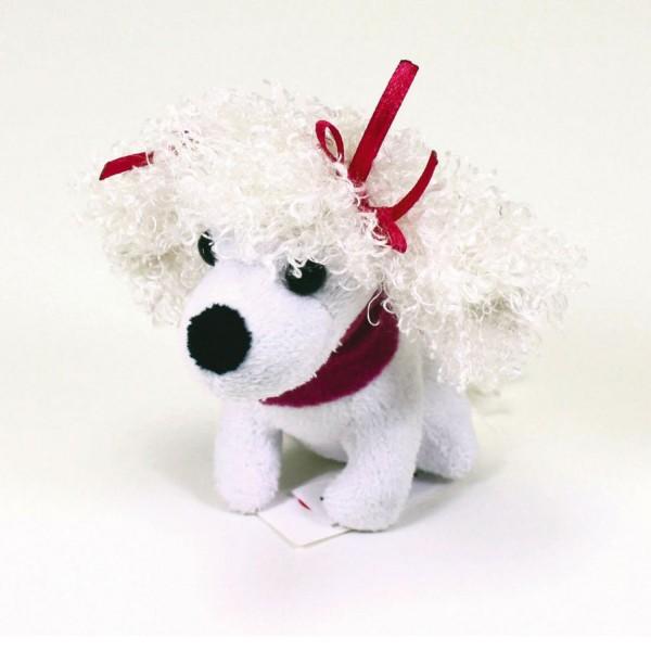 Peluche chien Chichi Love Mini Fashion : Caniche femelle - Simba-105893160-3