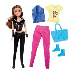 Poupée mannequin Chica Vampiro avec accessoires : Daisy