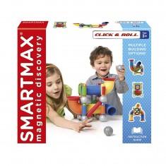 Construction aimantée SmartMax : Click & Roll