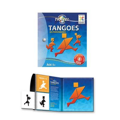 Tangram magnétique SmartGames Voyage : Tangoes personnages - Smart-SGT110