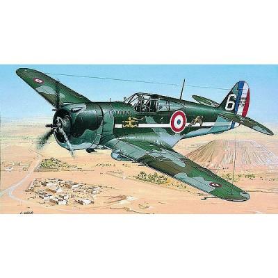 Maquette avion: Curtiss P-36/H.75 Hawk - Smer-841