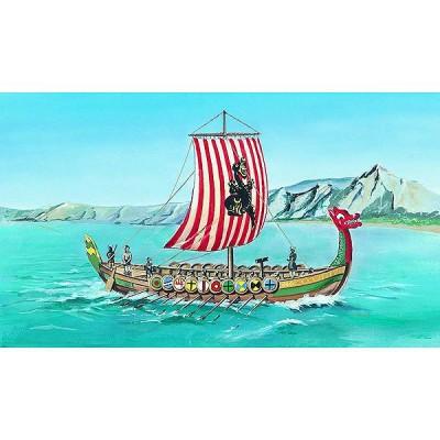 maquette bateau drakkar viking smer rue des maquettes
