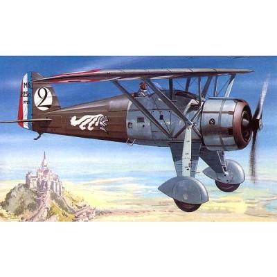 Maquette avion: Morane Saulnier MS225 - Smer-838