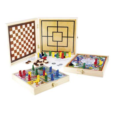 coffret bois jeux de soci t 100 jeux avenue des jeux. Black Bedroom Furniture Sets. Home Design Ideas