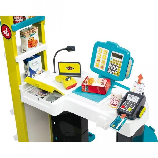 caisse de supermarch city shop jeux et jouets smoby. Black Bedroom Furniture Sets. Home Design Ideas