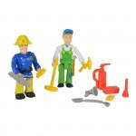 Figurine Sam le Pompier : Duo de 2 figurines 7 cm