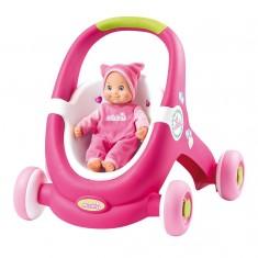 Poussette pour poupée Minikiss Baby Walker
