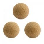 Balles de Baby Foot en  liège 35 mm : Lot de 3