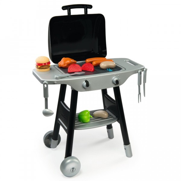 Barbecue plancha avec 16 accessoires - Smoby-024497