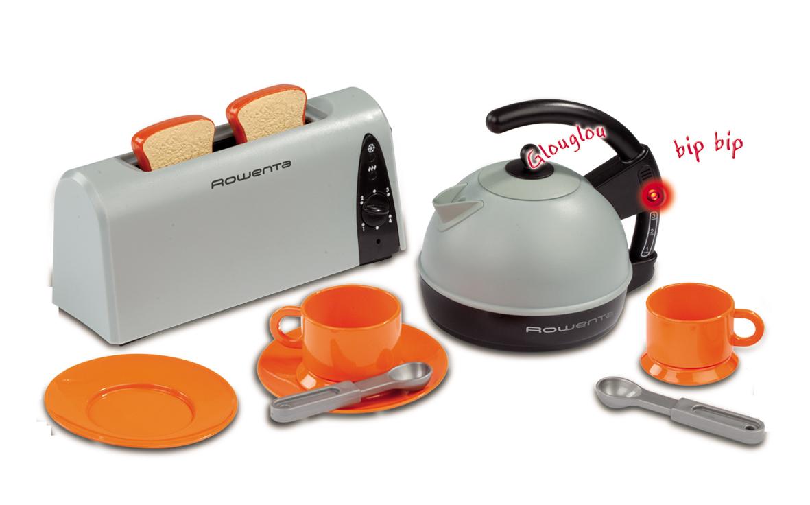 Bouilloire et grille pain rowenta r le play smoby magasin de jouets pour enfants - Grille pain et bouilloire ...