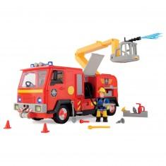 Camion de pompier lance à eau sonore et lumineux