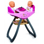 Chaise haute pour poupées : Baby Nurse : Jumeaux