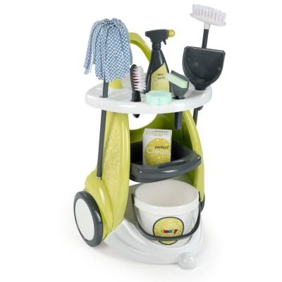 Chariot de ménage Clean service - Smoby-024086