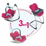 Cosy + Chaise haute pour poupée : Bébé Confort rose