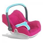 Cosy pour poupées : Siège Bébé Confort rose