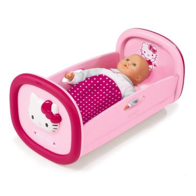 lit bascule hello kitty rose smoby magasin de jouets pour enfants. Black Bedroom Furniture Sets. Home Design Ideas