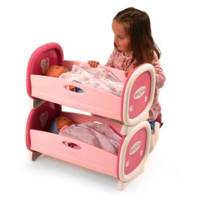 lits jumeaux baby nurse de smoby. Black Bedroom Furniture Sets. Home Design Ideas