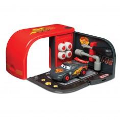 Mallette Cars Customiz Box : Flash McQueen Carbone