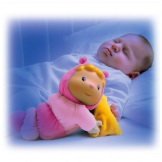 Peluche veilleuse Cotoons Glowing Chowing : Rose