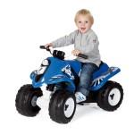 Quad électrique Rallye bleu