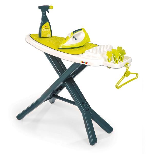 table repasser tefal avec accessoires jeux et jouets smoby avenue des jeux. Black Bedroom Furniture Sets. Home Design Ideas