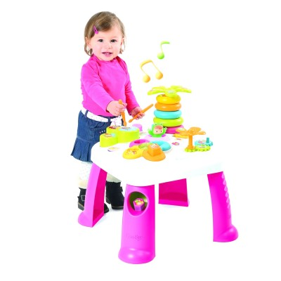 table d 39 activit s cotoons rose jeux et jouets smoby. Black Bedroom Furniture Sets. Home Design Ideas
