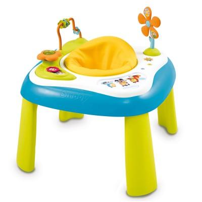table d 39 activit s youpi baby cotoons bleu jeux et. Black Bedroom Furniture Sets. Home Design Ideas