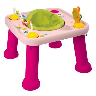 table d 39 veil et d 39 activit s cotoons youpi baby rose. Black Bedroom Furniture Sets. Home Design Ideas
