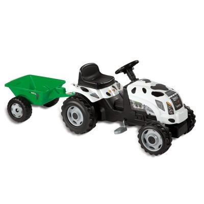 tracteur p dales bull vache jeux et jouets smoby. Black Bedroom Furniture Sets. Home Design Ideas