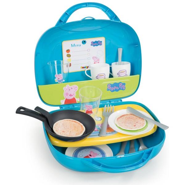 valise mini cuisine peppa pig jeux et jouets smoby avenue des jeux. Black Bedroom Furniture Sets. Home Design Ideas