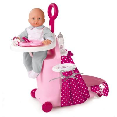 Valise nursery hello kitty jeux et jouets smoby avenue des jeux - Cuisine smoby hello kitty ...