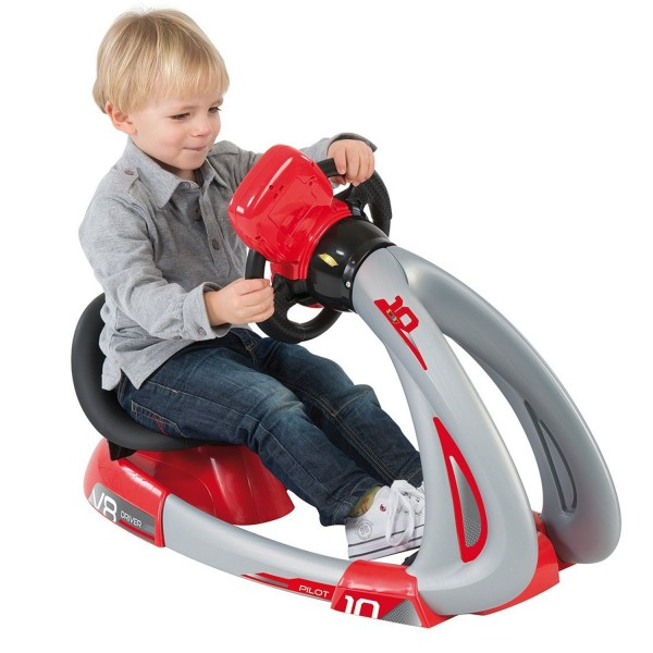 voiture simulateur de conduite pilot v8 driver avec support jeux et jouets smoby avenue. Black Bedroom Furniture Sets. Home Design Ideas