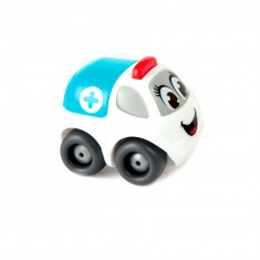 Voiture Smoby Planet : Mini Bolide : Ambulance