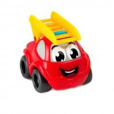 Voiture Smoby Planet : Mini Bolide : Camion de pompier