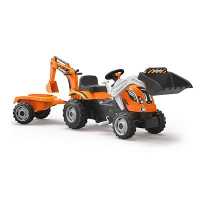 tracteur p dales builder max et sa remorque jeux et. Black Bedroom Furniture Sets. Home Design Ideas