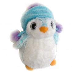 Peluche Pingouin 23 cm : Bonnet péruvien