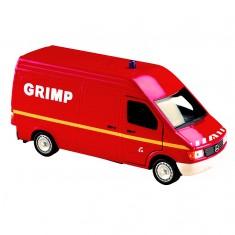 Modèle réduit en métal : Pompiers : Mercedes-Benz Sprinter 1995