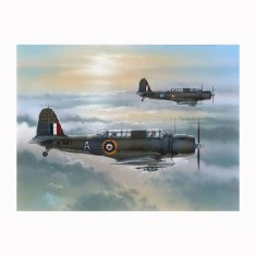 Maquette avion CHANCE-VOUGHT V - 156B CHESAPEAKE 1942