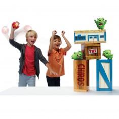 Coffret de jeu Angry Birds : Chamboule-tout géant