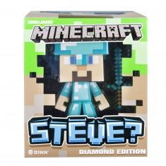 Figurine Minecraft Edition Diamant : Steve 15 cm