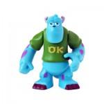 Figurine Monstres Academy 5 cm : Sully avec tee-shirt OK