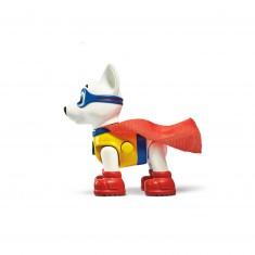 Figurine Pat'Patrouille (Paw Patrol) : Sac à dos : Appolo Super Pup