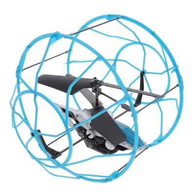Hélicoptère radiocommandé Air Hogs : Roller Copter : Bleu - SpinM-6022866-20069780