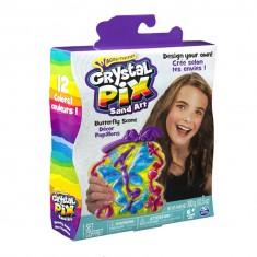 Kit créatif Décors de sable : Crystal Pix Papillons