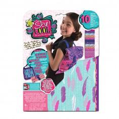 Kit créatif Sew Cool : Couture feutrine : Sac à dos